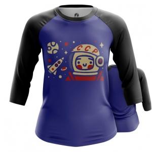 Collectibles Women'S Raglan Yuri Gagarin Space Merch