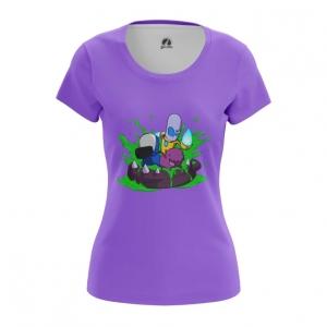 Merch - Women'S T-Shirt Starcraft Cartooned Top