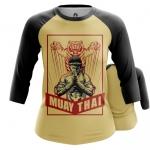 Merchandise - Women Raglan Muay Thai Boxing Martial Art Merch
