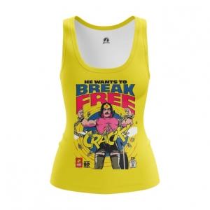 Merchandise Women'S Tank Break Free Freddie Mercury Vest