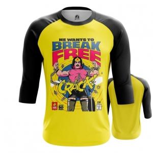 Merchandise Men'S Raglan Break Free Freddie Mercury