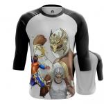 Merchandise - Mens Raglan Wrestler Carístico Mistico Wwe