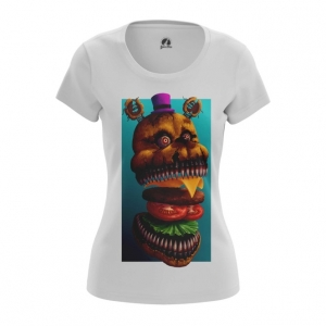 Merch Women'S T-Shirt Fredbear Five Nights At Freddy'S Top