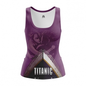 Merch Women'S Tank Titanic Print Ship Vest