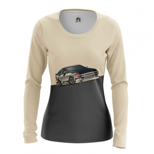 Merch Women'S Long Sleeve Ae86 Toyota Car
