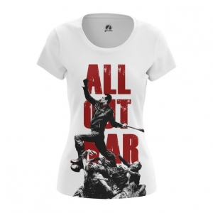 Collectibles Women'S T-Shirt All Out War Walking Dead Top