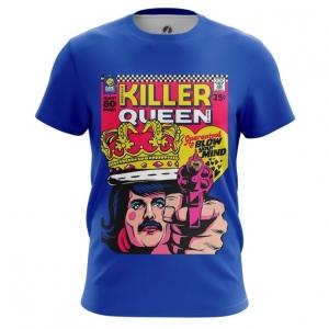 Merchandise Men'S T-Shirt Killer Queen Freddie Mercury Top