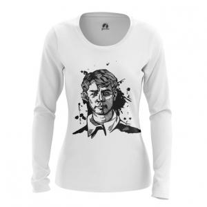 Merchandise Women'S Long Sleeve Russian Poet Yesenin Merch