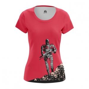 Collectibles Women'S T-Shirt T-600 Terminator Top