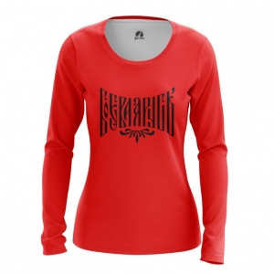 Collectibles Women'S Long Sleeve Red Militant Slavic Rus'