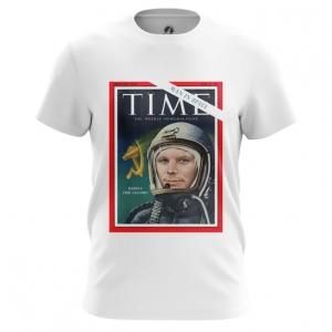 Collectibles Men'S T-Shirt Magazine Cover Time Yuri Gagarin Top