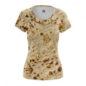 Merchandise Women'S T-Shirt Pita Print Tortillas Top