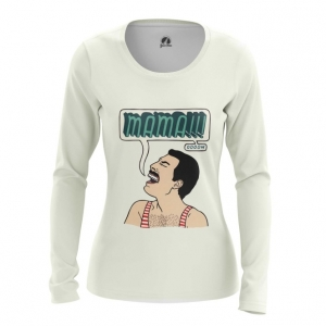 Merchandise Women'S Long Sleeve Mama Freddie Mercury Queen