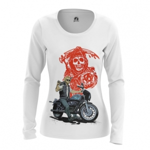 Merch Women'S Long Sleeve Sons Of Anarchy Tv Series