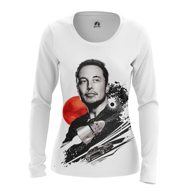Collectibles Women'S Long Sleeve Elon Musk To The Stars