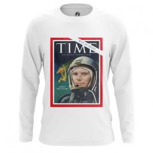 Collectibles Men'S Long Sleeve Magazine Cover Time Yuri Gagarin