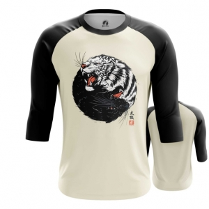 Merchandise Men'S Raglan Tiger Panther Print