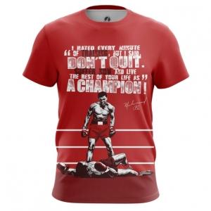 Merchandise - Men'S T-Shirt Muhammad Ali Quotes Clothing Top