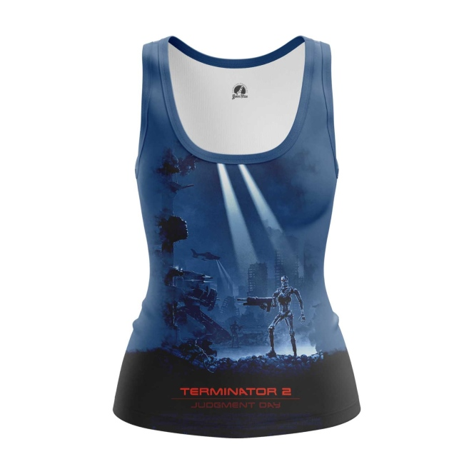 Merch Women'S Tank Judgement Day Terminator Vest