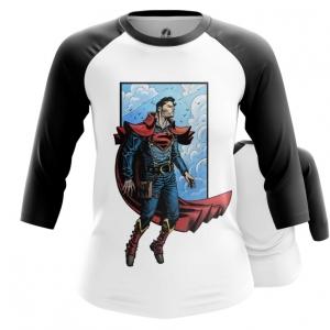 Collectibles Womens Raglan Steampunk Superman