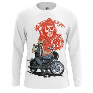 Merch Men'S Long Sleeve Sons Of Anarchy Tv Series
