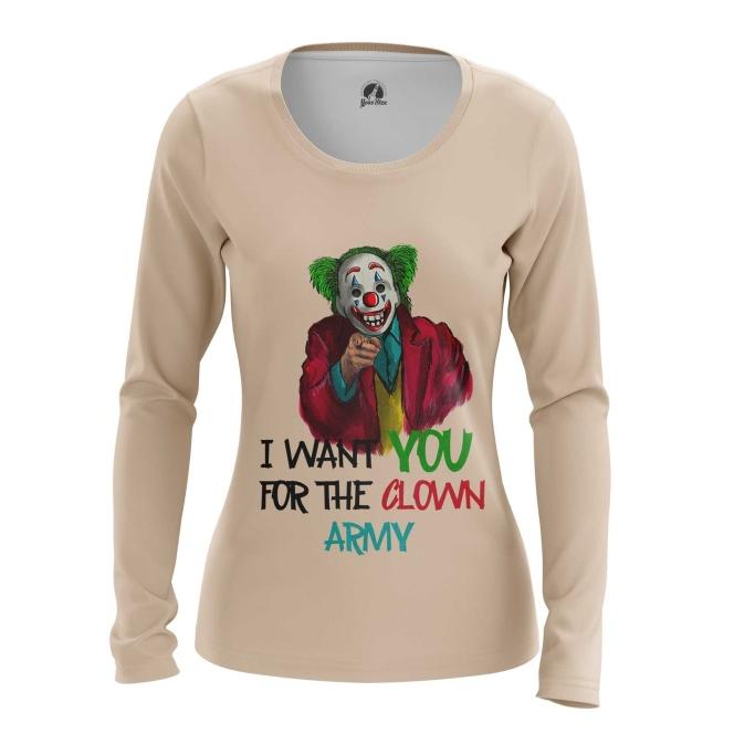 Collectibles Women'S Long Sleeve Join Clown Army Joker