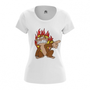Collectibles Women'S T-Shirt Angry Monkey Family Guy Top