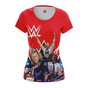 Merch Women'S T-Shirt Wwe Wrestling Merch Top