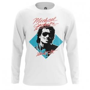 Collectibles Men'S Long Sleeve Beat It Michael Jackson Merch