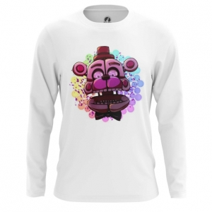 Merch Men'S Long Sleeve Game Five Nights At Freddy'S
