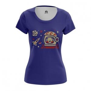 Collectibles Women'S T-Shirt Yuri Gagarin Space Merch Top