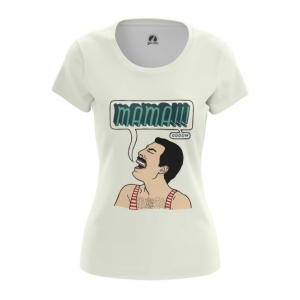 Merchandise Women'S T-Shirt Mama Freddie Mercury Queen Top