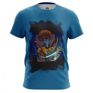Merch - Men'S T-Shirt Bob Ross Bob Toss Starcraft Top