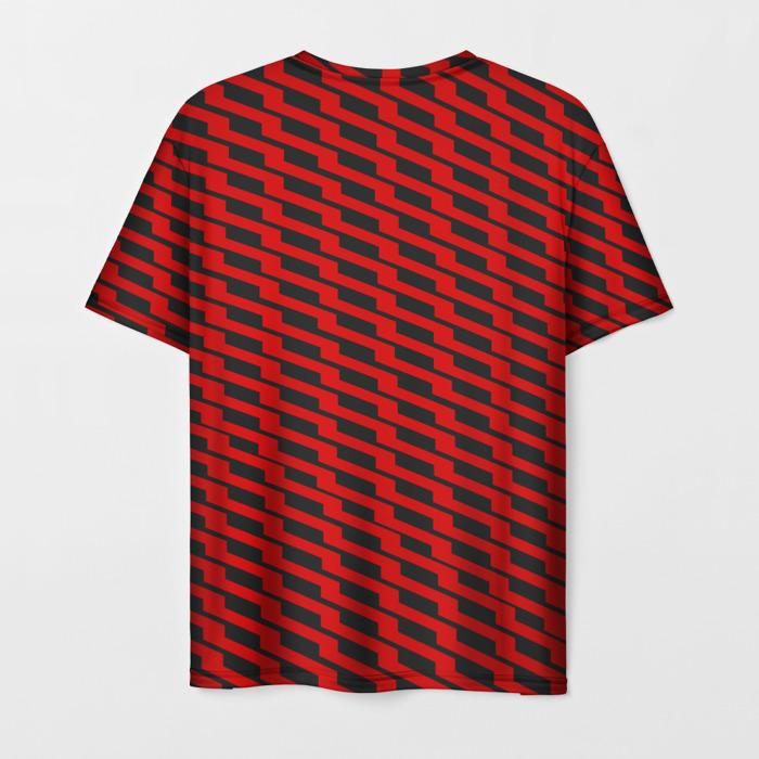 Merchandise T-Shirt Red Line Pubgreality Print