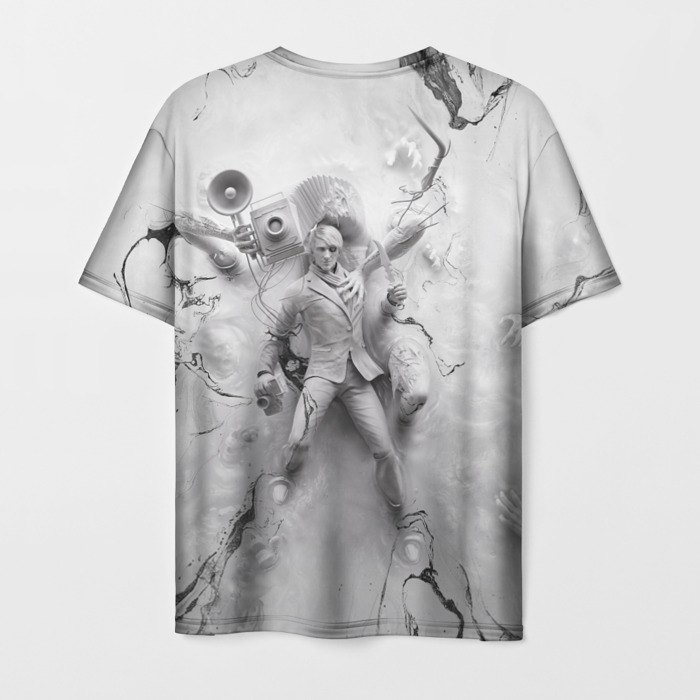 Collectibles T-Shirt The Evil Within Eyes White