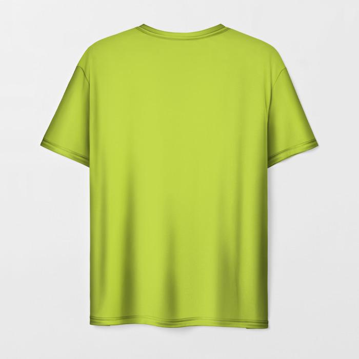 Merchandise T-Shirt Green Print Dota Pudge