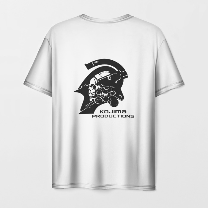 Collectibles T-Shirt White Title Death Stranding Print