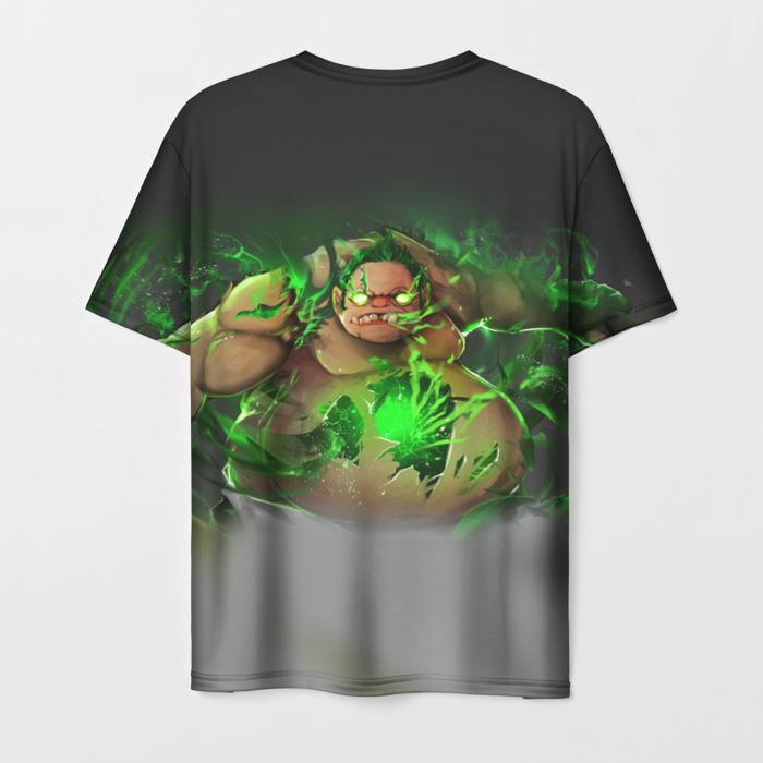 Merch T-Shirt Print Hero Toxic Pudge Dota