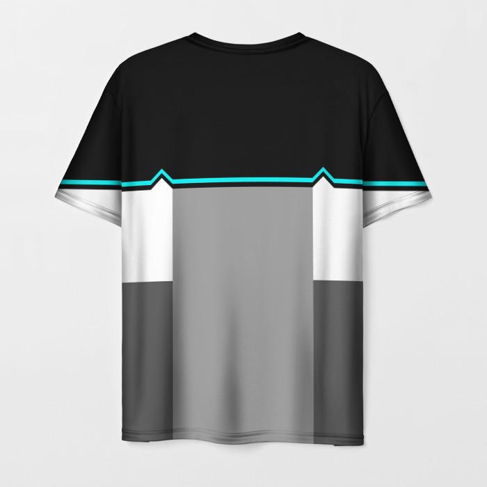 Merch T-Shirt Emblem Detroit Become Human Label