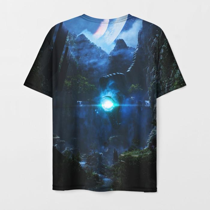 Merchandise T-Shirt Text Anthem Landscape Print