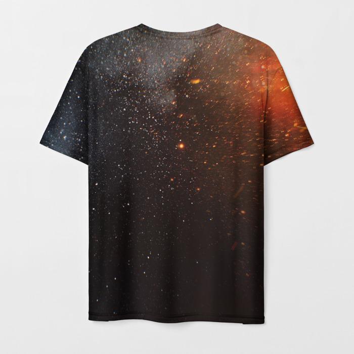 Merch T-Shirt Text Print Six Siege Rainbox