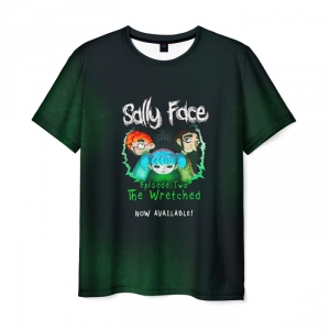 Collectibles T-Shirt Sally Face Episode Two The Wretchet