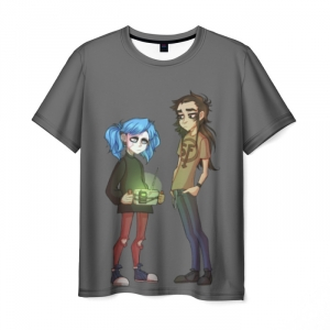Collectibles T-Shirt Sally Face Characters Gray