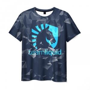 Merch T-Shirt Team Liquid Uniform Dota2 Print