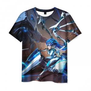 Merch - T-Shirt Kerrigan Starcraft Charecter Print
