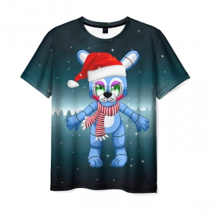 Merch T-Shirt Five Nights At Freddyes New Year