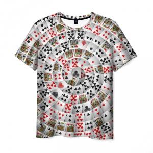 Merchandise T-Shirt Playing Card Poker Pattern