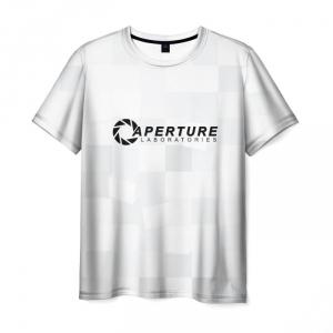 Merch T-Shirt Aperture Labs Portal White