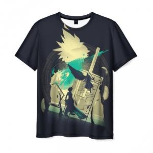 Collectibles T-Shirt Final Fantasy Vii Black Print