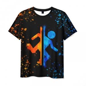Merch T-Shirt Portal Picture Man Print